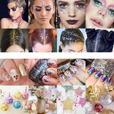 Chunky Glitter Mixed Flake Body Art Nail Hair Face Eye Shadow Body Makeup
