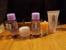 New Clinique Assorted 5 Piece Lot Of Skincare Travel Size Products