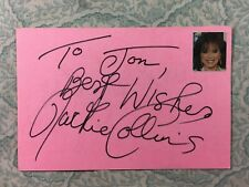 Jackie Collins - Lucky - Lady Boss - Autographed 1985
