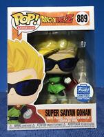🔥Funko POP🔥Super Saiyan Gohan With Sunglasses Funko Shop Exclusive In hand