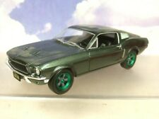 GREENLIGHT 1/24 BULLITT 1968 FORD MUSTANG GT FASTBACK RARE CHASE/GREEN WHEELS!