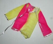 """Vintage 18"""" Supersize Barbie Cling & Zing Pink and Yellow Jacket"""