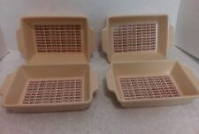 Vintage 4 Micro-Pro Mini Casserole Microwave Oven Proof Dishes Japan