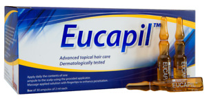 Eucapil - Hair loss treatment Anti Baldness Alopecia 30 ampoules