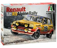 Italeri 3652 Auto Renault R5 Rally unlackierter Plastik Bausatz 1:24