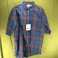 Vintage Saddlebrook Short Sleeve Button Down Shirt Men's Size Large