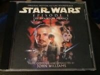 STAR WARS EPISODE 1. The Phantom Menace . Film Soundtrack C.D. JOHN WILLIAMS