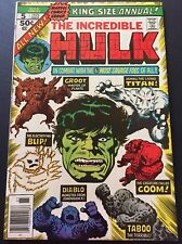 Incredible Hulk Annual #5 NM 2nd Groot Bronze Age (1976) Marvel Comics Key Issue