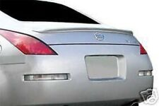 PAINTED MOST COLORS fits NISSAN 350Z COUPE HARD TOP 2003-2008 REAR LIP SPOILER