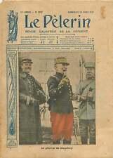 WWI Général Louis Ernest de Maud'huy en Uniforme Paris France 1917 ILLUSTRATION