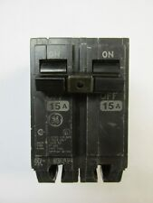 Ge Circuit Breaker 15 Amp 2 Pole Plug-in Thql215. Vs-245