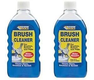 2 x Everbuild - Paint Brush Cleaner - 500ml x 2