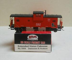 ATLAS 1904 HO Delaware & Hudson Extended Vision Caboose #35791