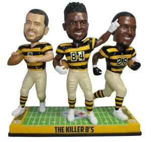 Pittsburgh Steelers Roethlisberger, Brown, Bell Killer Bs Bobblehead NFL