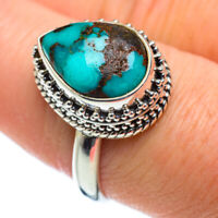 Tibetan Turquoise 925 Sterling Silver Ring Size 9 Ana Co Jewelry R50176F