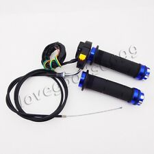 Kill Switch Throttle Cable Handle Grips 50 60 80cc Push Bike Motorized Bicycle