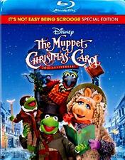 Disney Jim Henson Charles Dickens The Muppet Christmas Carol Movie on Blu-ray