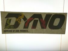 Old School NOS BMX DYNO Bicycles large dealer window sticker freestyle