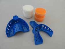 Regular Setting Dental Impression Putty & Impression Trays - Upper & Lower