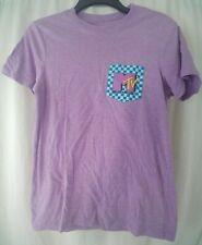 Womens MTV T-Shirt Purple Size Small Juniors