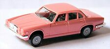 Jaguar XJ12 V12 Limousine XJ Série III 1987-92 rose clair light pink 1:87 Herpa