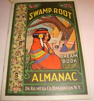 Swamp Root Almanac 1941~Dr Kilmer And Co Sleepy Eye, MN GENE KUSKE REXAL DRUG