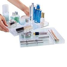 Kosmetik Make Up Organizer Aufbewahrung Ordnungsständer 3 Fächer Acryl Display