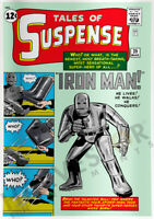 MARVEL COMICS - TALES OF SUSPENSE #39 - SILVER FOIL 1 OZ. - FIFTH IN SERIES