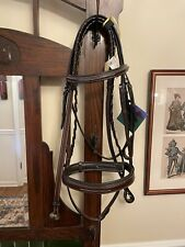 Red Barn KL Select Tryon Hunter Bridle Reins Wide Noseband $370 Cob Horse Pony