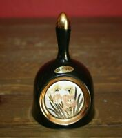 Vintage Chokin 24K Gold Trim Bell