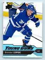 2016-17 Upper Deck Young Guns Brendan Leipsic Rookie #499