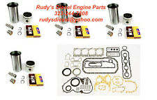 Liner Kit + Gasket Set Bundle for 92-98 Isuzu NPR 3.9L 4BD2 Turbo diesel engine