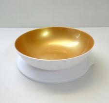 TUPPERWARE Allegra Servierschüssel 1,5L mit Deckel, WEISS/GOLD