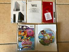 Jeu video Kirby's adventure wii boite et notice Nintendo Wii