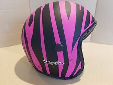 Caberg Jet Freeride marty  Motorcycle Bike Open Face matt pink black Helmet D45