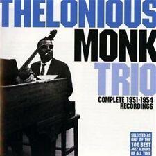 Thelonious Monk Trio : Complete 1951-1954 Recordings CD***NEW***