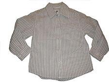 C & A tolles Hemd Gr. 98 beige-weiß gestreift !!