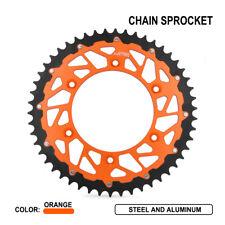 52T CNC Rear Sprocket For KTM 125 144 150 200 250 300 350 360 400 450 505 530