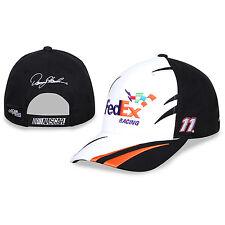 Denny Hamlin Checkered Flag Sports #11 Fed Ex Racing Jagged Hat FREE SHIP!