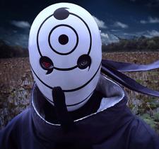 Anime Naruto Akatsuki Tobi Uchiha Obito Madara Mask Halloween Party COSPLAY Gift