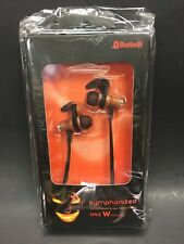 Symphonized NRG -Bluetooth Natural Wood in-ear Noise-isolating - New Sealed
