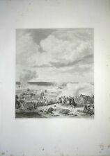 GDE GRAVURE XIXè BATAILLE DE TURCOING TOURCOING LILLE 1794 REVOLUTION FRANCAISE