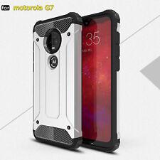 For Motorola Moto G7 G6 G5 Plus E5 Play Case Heavy Duty Hybrid TPU Rugged Cover