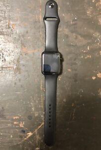 (BROKEN)Apple Watch Series 1 42mm Stainless Steel Ceramic Black - FH7Q8VC7G9C