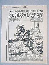 Transformers #20 - Complete 23 Page Book - Original Production Art - Herb Trimpe