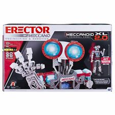 Erector by Meccano Meccanoid Xl 2.0 Robot-Building Kit, Stem Education Toy fo.
