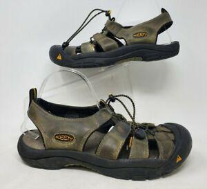 Keen Mens Newport H2 Dark Olive Bronze Outdoor Hiking Sandals Shoes Size 11.5