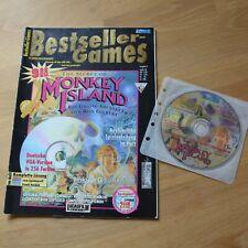 The Secret of Monkey Island 1, Bestseller Games, PC-Spiel CD-ROM, VGA-Version