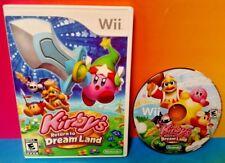 Kirby's Return to Dream Land - Nintendo Wii and Wii U Game Rare