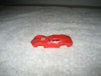 VINTAGE AURORA RED TJET MAKO SHARK CORVETTE HO SLOT CAR BODY ONLY